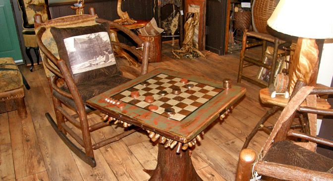 Genial Offering Traditional Adirondack Style Rustic Furniture By Steve Bowers And  Other Skilled Artisans Of The Region